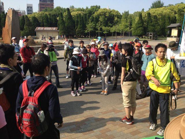 大阪城からスタート!2日かけて姫路城へ!