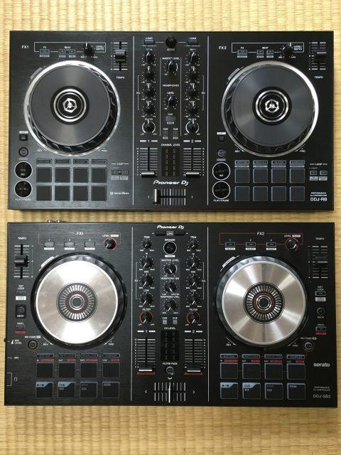 上:DDJ-RB 下:DDJ-SB2